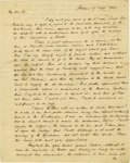 "Autographs:Statesmen, Henry Clay Fine Content Autograph Letter Signed ""H Clay.""..."