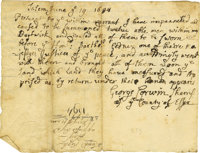Salem Witch Trials: George Corwin and Stephen Sewall