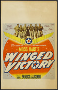 "Movie Posters:War, Winged Victory (20th Century Fox, 1944). Window Card (14"" X 22"").War...."