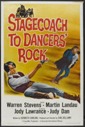 """Movie Posters:Western, Stagecoach to Dancers' Rock (Universal International, 1962). One Sheet (27"""" X 41""""). Western...."""