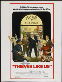 "Thieves Like Us (United Artists, 1974). Poster (30"" X 40"") Style B. Crime"