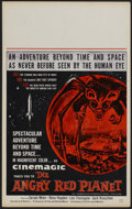 """Movie Posters:Science Fiction, The Angry Red Planet (American International, 1960). Window Card (13.75"""" X 22""""). Science Fiction...."""