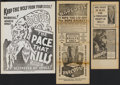 Movie Posters:Cult Classic, Narcotic Lot (Roadshow Attractions, 1933). Heralds (3). CultClassic.... (Total: 3 Items)