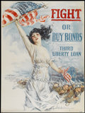 "Movie Posters:War, World War I Howard Chandler Christy Poster (U.S. Government, 1917). Poster (30"" X 40""). War...."
