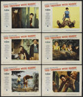 """Movie Posters:Hitchcock, The Trouble With Harry (Paramount, 1955). Lobby Cards (6) (11"""" X14""""). Hitchcock.... (Total: 6 Items)"""
