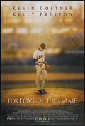 """Movie Posters:Sports, For Love of the Game (Universal, 1999). One Sheet (27"""" X 40"""") DS. Sports...."""