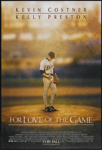 "For Love of the Game (Universal, 1999). One Sheet (27"" X 40"") DS. Sports"