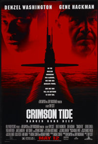 "Crimson Tide (Buena Vista, 1995). One Sheet (27"" X 40"") SS. War"