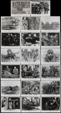 "Movie Posters:War, Attack! (United Artists, 1956). Stills (20) (8"" X 10""). War....(Total: 21 Item)"