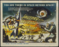 "Movie Posters:Science Fiction, Journey to the Seventh Planet (American International, 1962). Half Sheet (22"" X 28""). Science Fiction...."