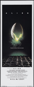 "Movie Posters:Science Fiction, Alien (20th Century Fox, 1979). Insert (14"" X 36""). ScienceFiction...."