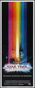 """Movie Posters:Science Fiction, Star Trek: The Motion Picture (Paramount, 1979). Insert (14"""" X36""""). Science Fiction...."""