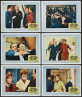 """Movie Posters:Hitchcock, Torn Curtain (Universal, 1966). Lobby Cards (6) (11"""" X 14"""").Hitchcock.... (Total: 6 Items)"""