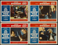 """Movie Posters:Hitchcock, The Man Who Knew Too Much (Paramount, 1956). Lobby Cards (4) (11"""" X14""""). Hitchcock.... (Total: 4 Items)"""
