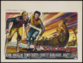 "Movie Posters:Action, The Vikings (United Artists, 1958). Belgian (19.25"" X 25.5"").Action...."