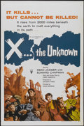 "Movie Posters:Science Fiction, X... the Unknown (RKO, 1957). One Sheet (27"" X 41""). ScienceFiction...."