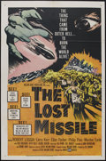 "Movie Posters:Science Fiction, The Lost Missile (United Artists, 1958). One Sheet (27"" X 41"").Science Fiction...."