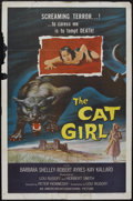 """Movie Posters:Horror, The Cat Girl (American International, 1957). One Sheet (27"""" X 41""""). Horror...."""