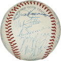 Autographs:Baseballs, 1978 St. Louis Cardinals Team Signed Baseball. 1978's version ofthe St. Louis Cardinals is seen here in the form of 31 ink...