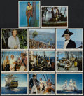 "Movie Posters:Adventure, Mutiny on the Bounty (MGM, 1962). Color Stills (11) (8"" X 10"").Adventure.... (Total: 11 Items)"