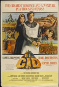 "Movie Posters:Adventure, El Cid (Allied Artists, 1961). Poster (40"" X 60""). Adventure...."