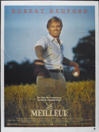 """The Natural (Tri-Star, 1984). French Grande (47"""" X 63""""). Sports"""