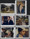"Movie Posters:Academy Award Winner, Gone with the Wind (MGM, R-1980s). Color Stills (6) (8"" X 10"").Academy Award Winner.... (Total: 6 Items)"