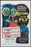 """Movie Posters:Horror, Return of the Fly (20th Century Fox, 1959). One Sheet (27"""" X 41""""). Horror...."""