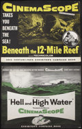 "Movie Posters:Adventure, Beneath the 12-Mile Reef Lot (20th Century Fox, 1953). Pressbooks(2) (Multiple Pages) (14"" X 18""). Adventure.... (Total: 2 Items)"