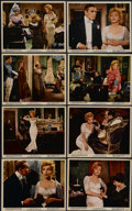 """Movie Posters:Romance, The Prince and the Showgirl (Warner Brothers, 1957). Color Stills (8) (8"""" X 10""""). Romance.... (Total: 8 Items)"""