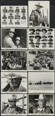 """The Cowboys (Warner Brothers, 1972). Stills (10) (8"""" X 10""""). Western.... (Total: 10 Items)"""