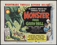 "Monster from Green Hell (DCA, 1958). Title Lobby Card (11"" X 14""). Horror"