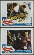 """Movie Posters:Adventure, The Abominable Snowman of the Himalayas (20th Century Fox, 1957).Lobby Cards (2) (11"""" X 14""""). Adventure.... (Total: 2 Items)"""