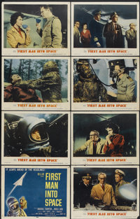 """First Man Into Space (MGM, 1959). Lobby Card Set of 8 (11"""" X 14""""). Science Fiction.... (Total: 8 Items)"""