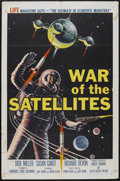 "Movie Posters:Science Fiction, War of the Satellites (Allied Artists, 1958). One Sheet (27"" X41""). Science Fiction...."