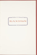 Books:First Editions, Robert E. Howard. Black Dawn. No place of publication: GlennLord, 1972.. ...