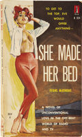Books:First Editions, Evans McKnight. She Made Her Bed. [New York]: Beacon, 1960.....