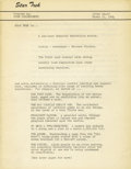 Books:First Editions, Facsimile of Gene Roddenberry's First Draft Proposal for StarTrek....