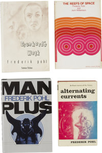 Frederik Pohl. Four First Editions, including: Alternating Currents. New York: Ballantine Books