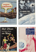 Books:First Editions, Four Gnome Press Science-Fiction First Editions.... (Total: 4Items)