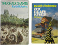Books:First Editions, Keith Roberts. Two UK First Editions, including: The ChalkGiants; The Grain Kings. London: Hutchinson and C...(Total: 2 Items)