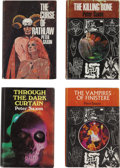 Books:First Editions, Peter Saxon. Four UK First Editions, including: Through the DarkCurtain; The Curse of Rathlaw; The Kill... (Total: 4Items)