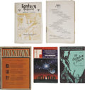 Books:Periodicals, Six Science-Fiction Related Periodicals and Fanzines,... (Total: 5Items)