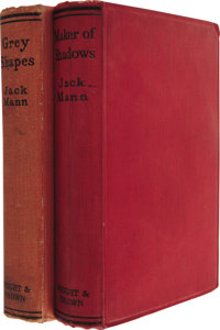 Jack Mann [pseudonym of Charles E. Vivian]. Two First Editions, including: Grey Shapes