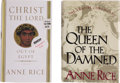Books:First Editions, Anne Rice. Two First Editions, One Signed,... (Total: 2 Items)