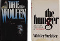Books:First Editions, Whitley Strieber. Two First Editions, including: The Wolfen;The Hunger. New York: William Morrow and Compan... (Total: 2Items)