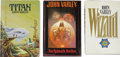 Books:First Editions, John Varley. Three First Editions,... (Total: 3 Items)