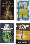 Books:First Editions, Keith Laumer. Four Science-Fiction First Editions,... (Total: 4Items)