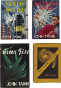Books:Fiction, John Taine [pseudonym of Eric Temple Bell]. Four Novels, TwoSigned, Limited, First Editions,... (Total: 4 Items)