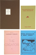 Books:First Editions, Four Classic Science Fiction Chapbooks, including: Fritz Leiber.The Demons of the Upper Air. Printed by Roy A. ... (Total: 4Items)
